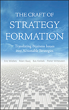 The Craft of Strategy Formation: Translating Business Issues into Actionabl