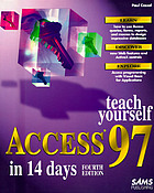 Teach yourself Access 97 in 14 days