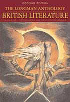 The Longman anthology of British literature : the romanticism and their contemporaries