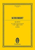 Quartet, A minor, for 2 violins, viola and violoncello, op. 29, Deutsch catalogue no. 804