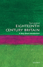 Eighteenth-century Britain : a very short introduction
