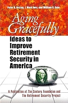 Aging gracefully : ideas to improve retirement security in America