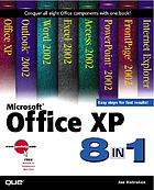 Microsoft Office XP 8-in-1