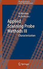 Applied scanning probe methods III : characterization