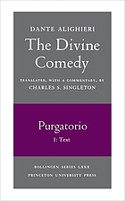 The divine comedy. Purgatorio