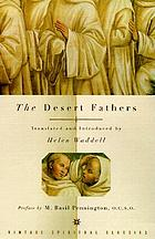 The desert fathers; translations from the Latin with an introduction