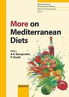 More on Mediterranean diets