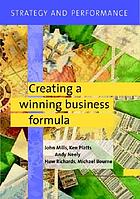 Creating a winning business formulaStrategy and performanceStrategy and performance