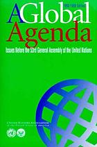 A global agenda : issues before the 54th Assembly of the United Nations