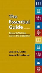 The essential guide : research writing across the disciplines
