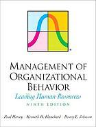 Management of organizational behavior : leading human resources