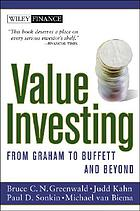 Value investing : from Graham to Buffet and beyond