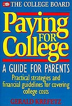 Paying for college : a guide for parents