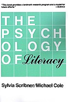 The psychology of literacy