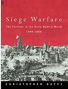 The fortress in the early modern world, 1494-1660