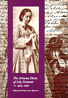 The Arizona diary of Lily Frémont, 1878-1881