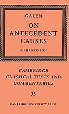 Galen on antecedent causes