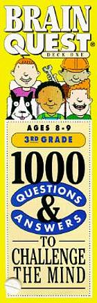 Brain quest : 1000 questions to challenge the mind ages 8 - 9, 3rd grade