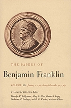 The papers of Benjamin Franklin. January 1 through December 31, 1769