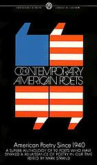 The contemporary American poets; American poetry since 1940