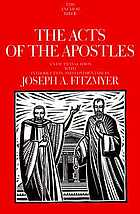 The Acts of the Apostles [in the proclamation of the gospel of Jesus Christ]