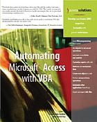 Automating Microsoft Access with VBA