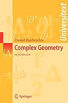 Complex geometry : an introduction