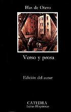 Verso y prosa