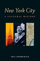 New York City : a cultural history