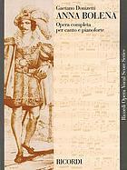 Anna Bolena : an opera in 2 acts