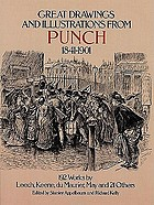 Great drawings and illustrations from Punch, 1841-1901 : 192 works by Leech, Keene, du Maurier, May and 21 others