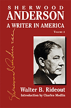 Sherwood Anderson a writer in America