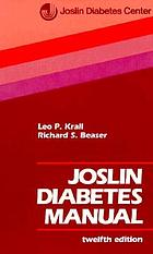 Joslin diabetes manual