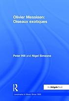 Olivier Messiaen, Oiseaux exotiques