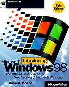 Introducing Microsoft Windows 98 : Beta edition