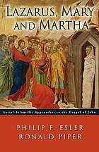 Lazarus, Mary and Martha : social-scientific approaches to the Gospel of John