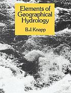 Elements of geographical hydrology