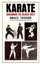 Karate, beginner to black belt