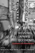 Reviving Japan's economy
