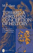 Toward a Christian conception of history