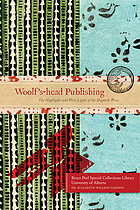 Woolf's-head Publishing : the highlights and new lights of the Hogarth Press