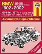 BMW owners workshop manual