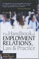 The handbook of employment relations, law & practice