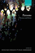 Persons human and divine