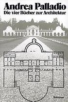Die vier Bücher zur Architektur