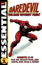Essential. Vol. 1, Daredevil : the man without fear