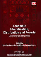 Economic liberalization, distribution, and poverty : Latin America in the 1990s