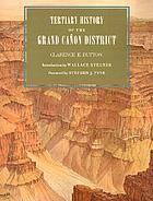 Tertiary history of the Grand Cañon District