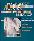 Psychology of learning & behavior