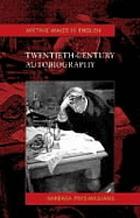 Twentieth-century autobiography